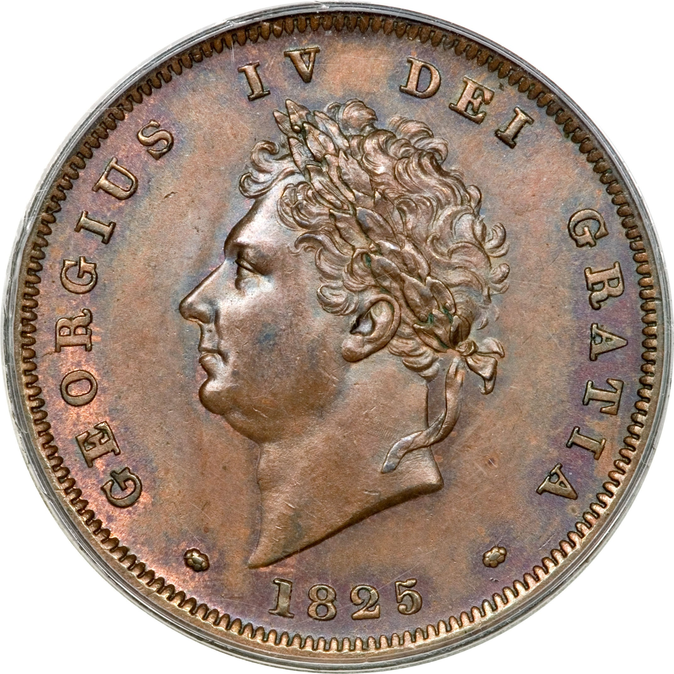 British 1 Penny (1825-1827 George IV)