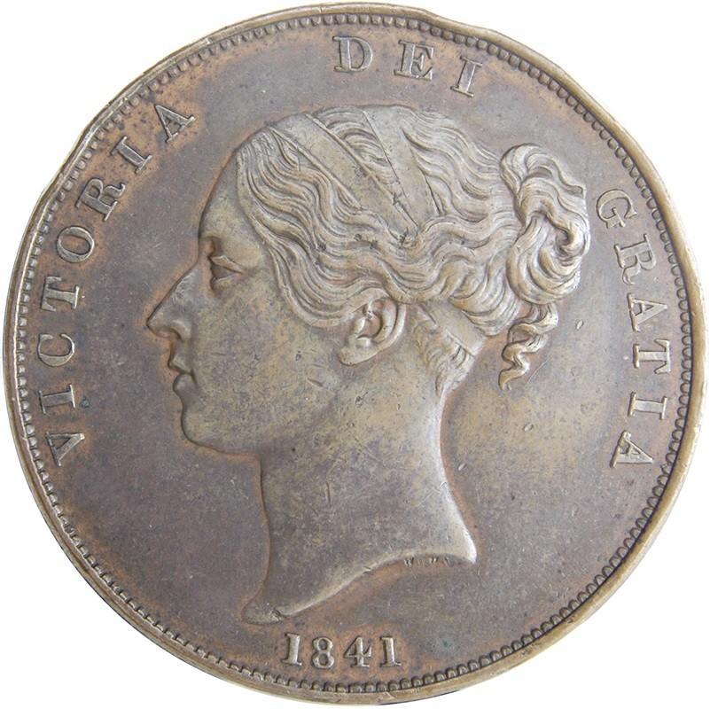 British 1 Penny (1841-1860 Victoria)