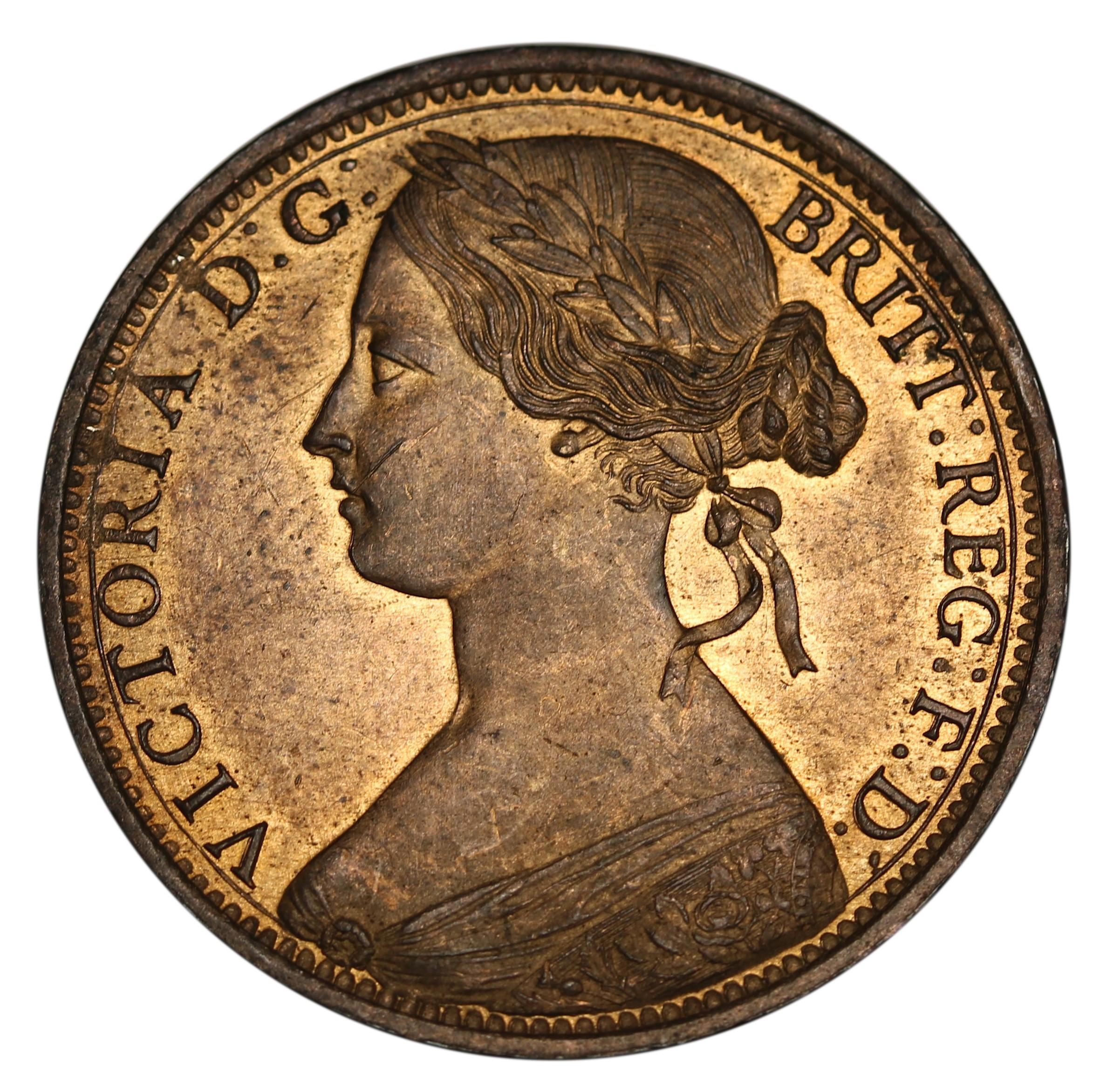 British 1 Penny (1860-1874 Victoria)