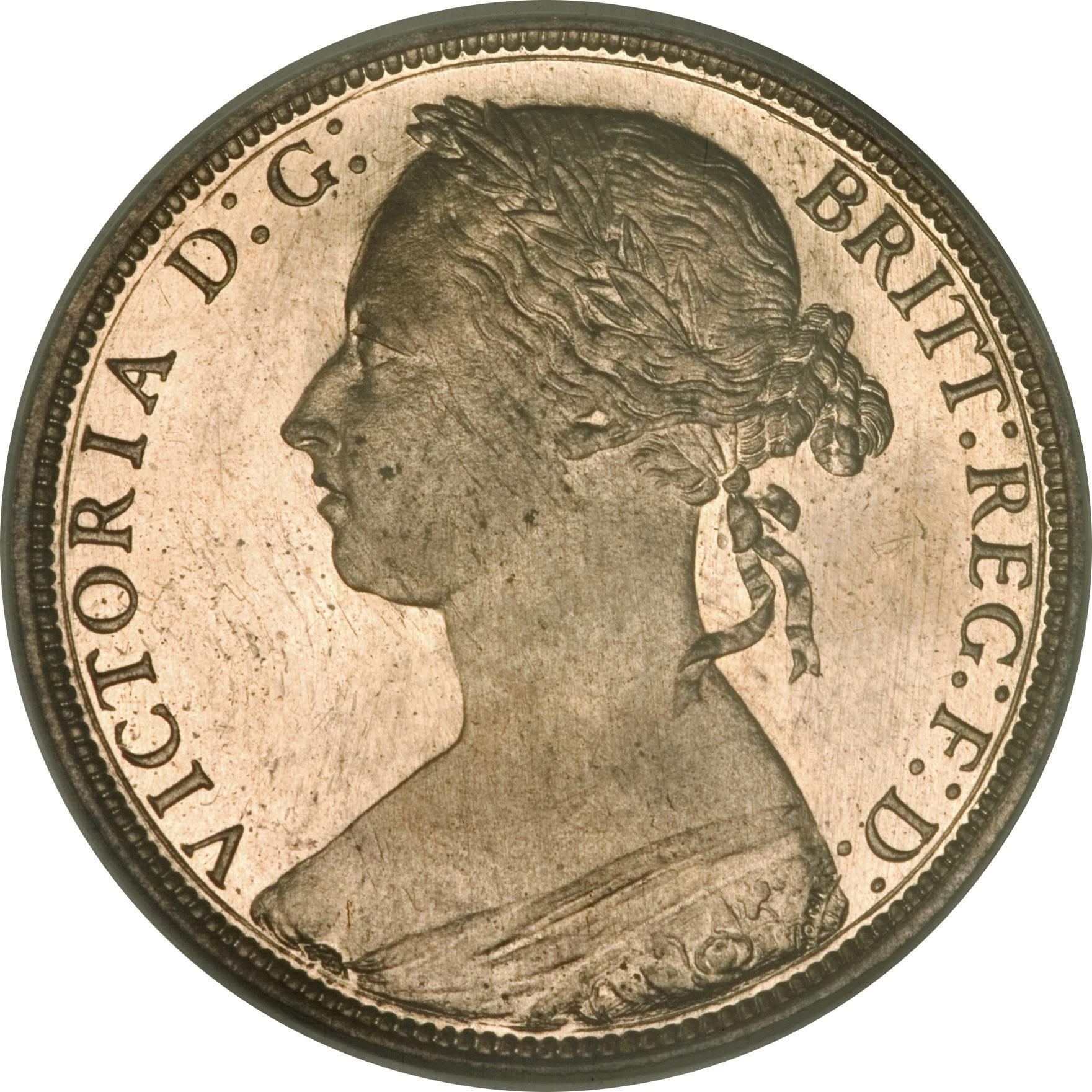 British 1 Penny (1874-1894 Victoria)
