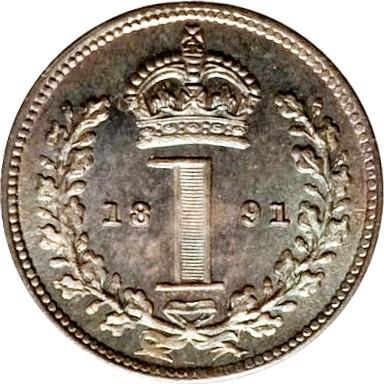 British 1 Penny (1888-1892 Victoria)