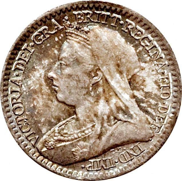 British 1 Penny (1893-1901 Victoria)