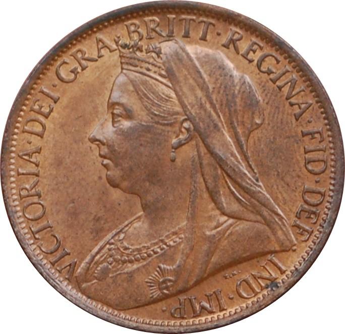 British 1 Penny (1895-1901 Victoria)
