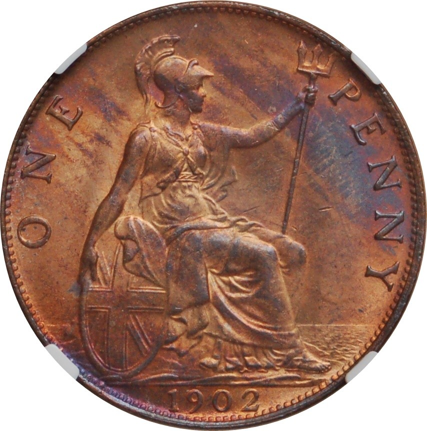 British 1 Penny (1902-1910 Edward VII)