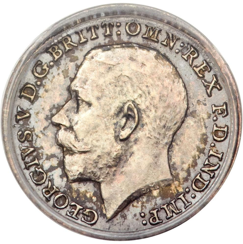 British 1 Penny (1911-1920 George V Maundy issue)