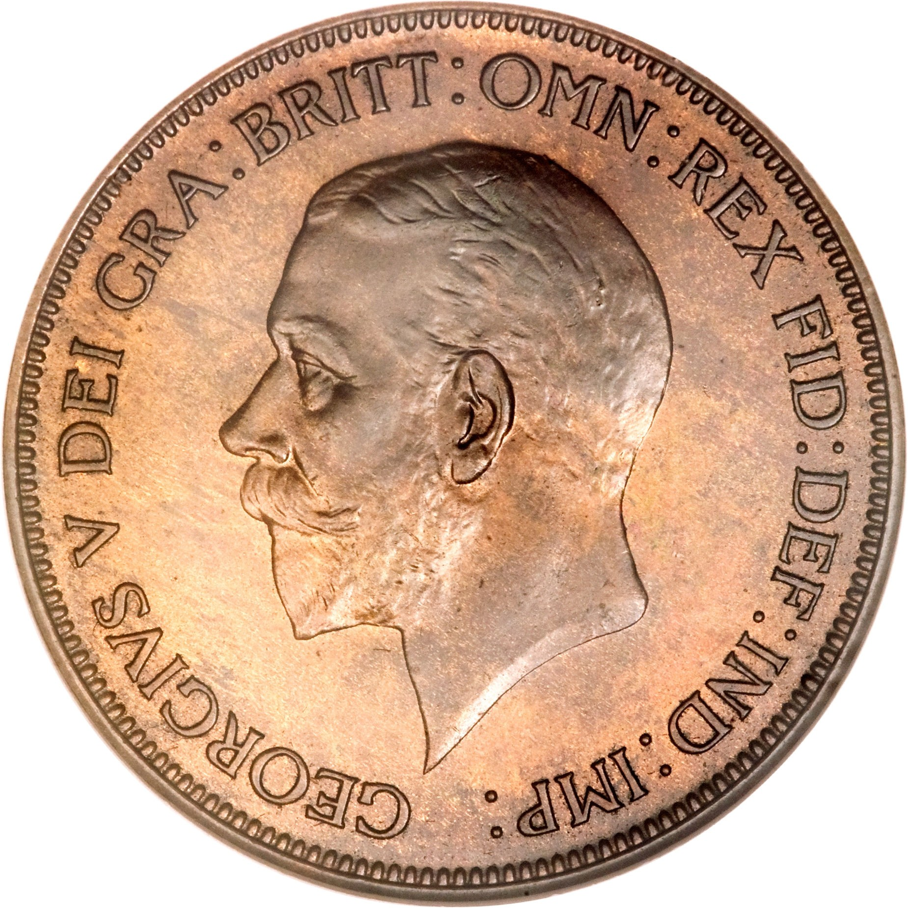 British 1 Penny (1928-1936 George V)