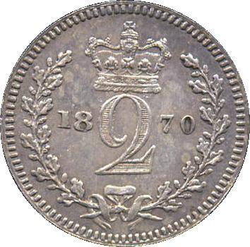British 2 Pence (1838-1887 Victoria)