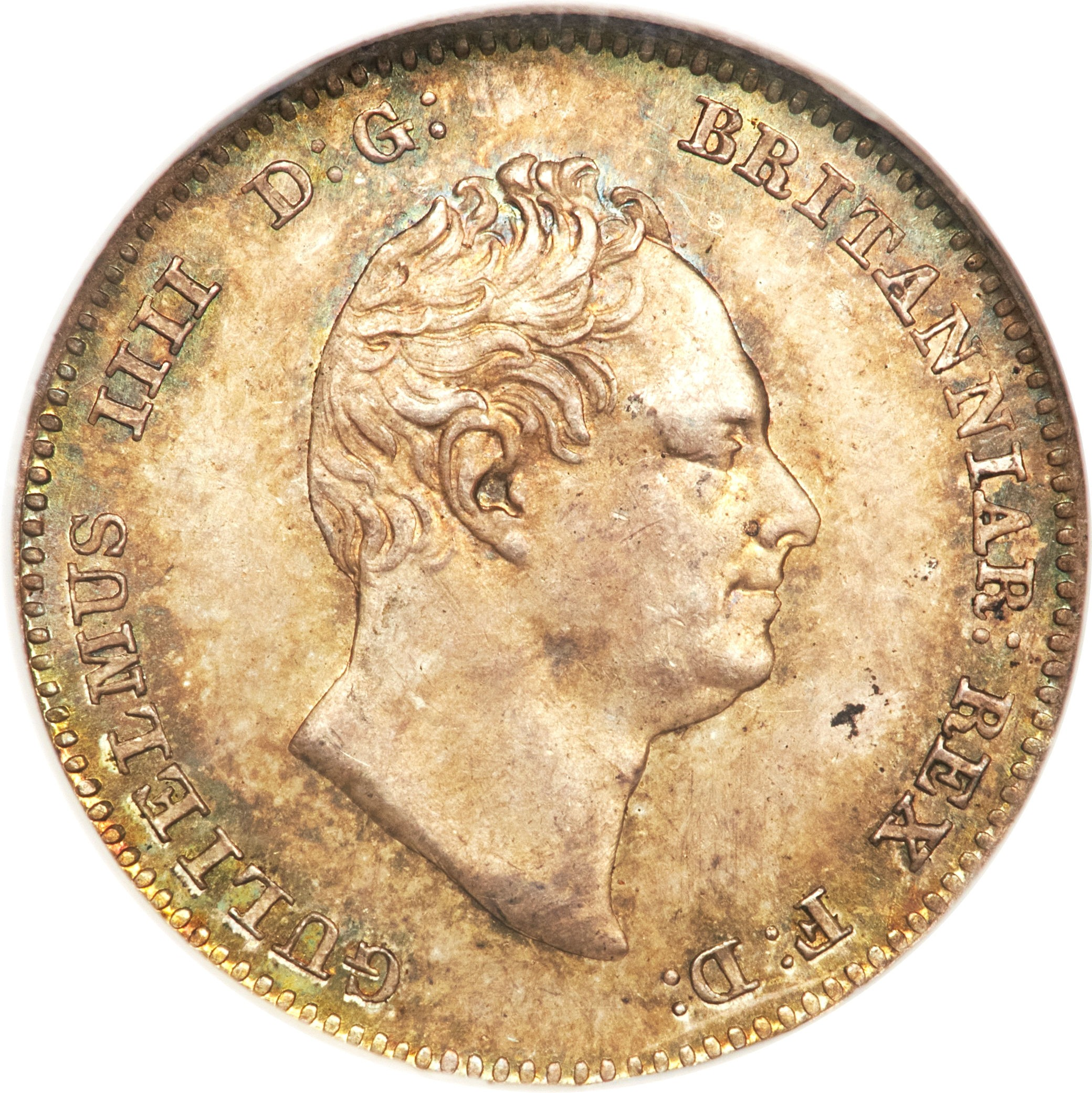 British 3 Pence (1831-1837 William IV)