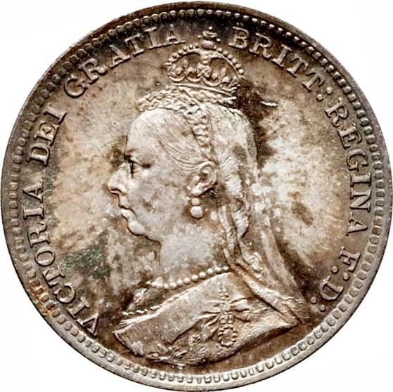 British 3 Pence (1887-1893 Victoria)