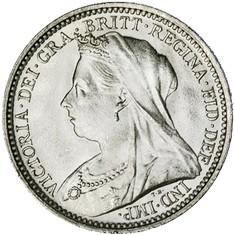 British 3 Pence (1893-1901 Victoria)