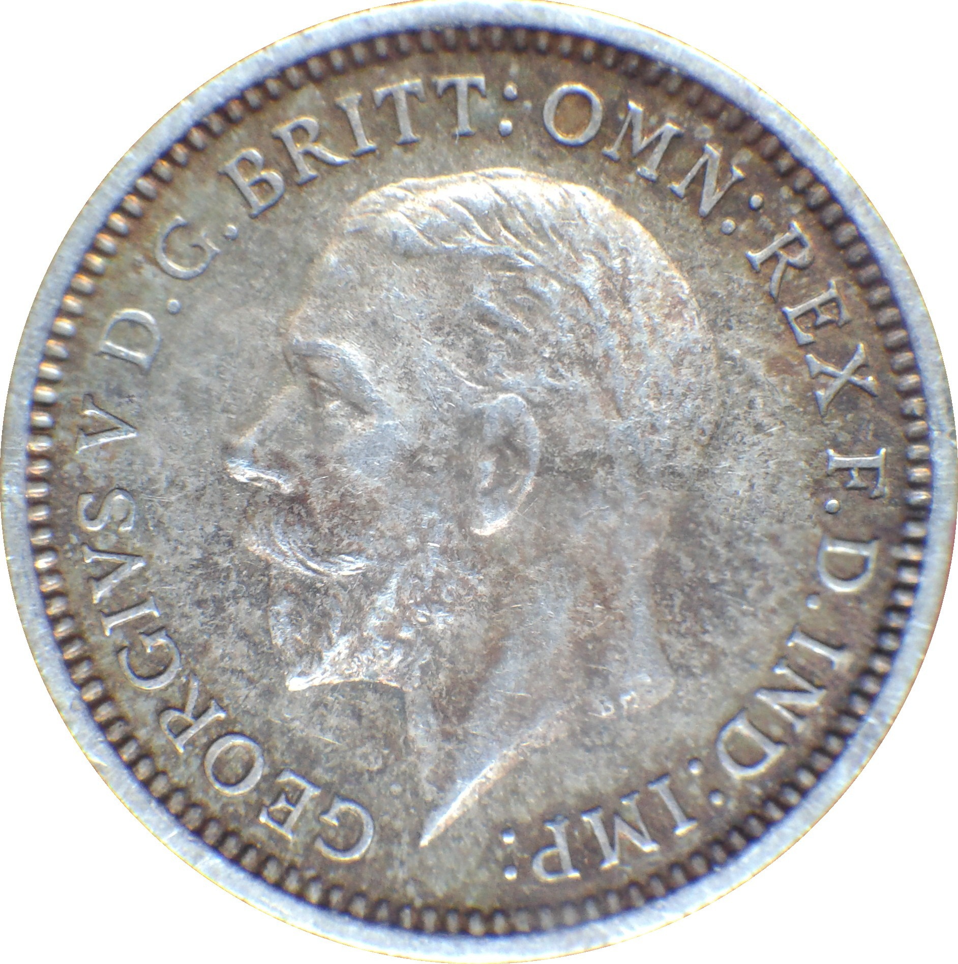 British 3 Pence (1926-1936 George V)