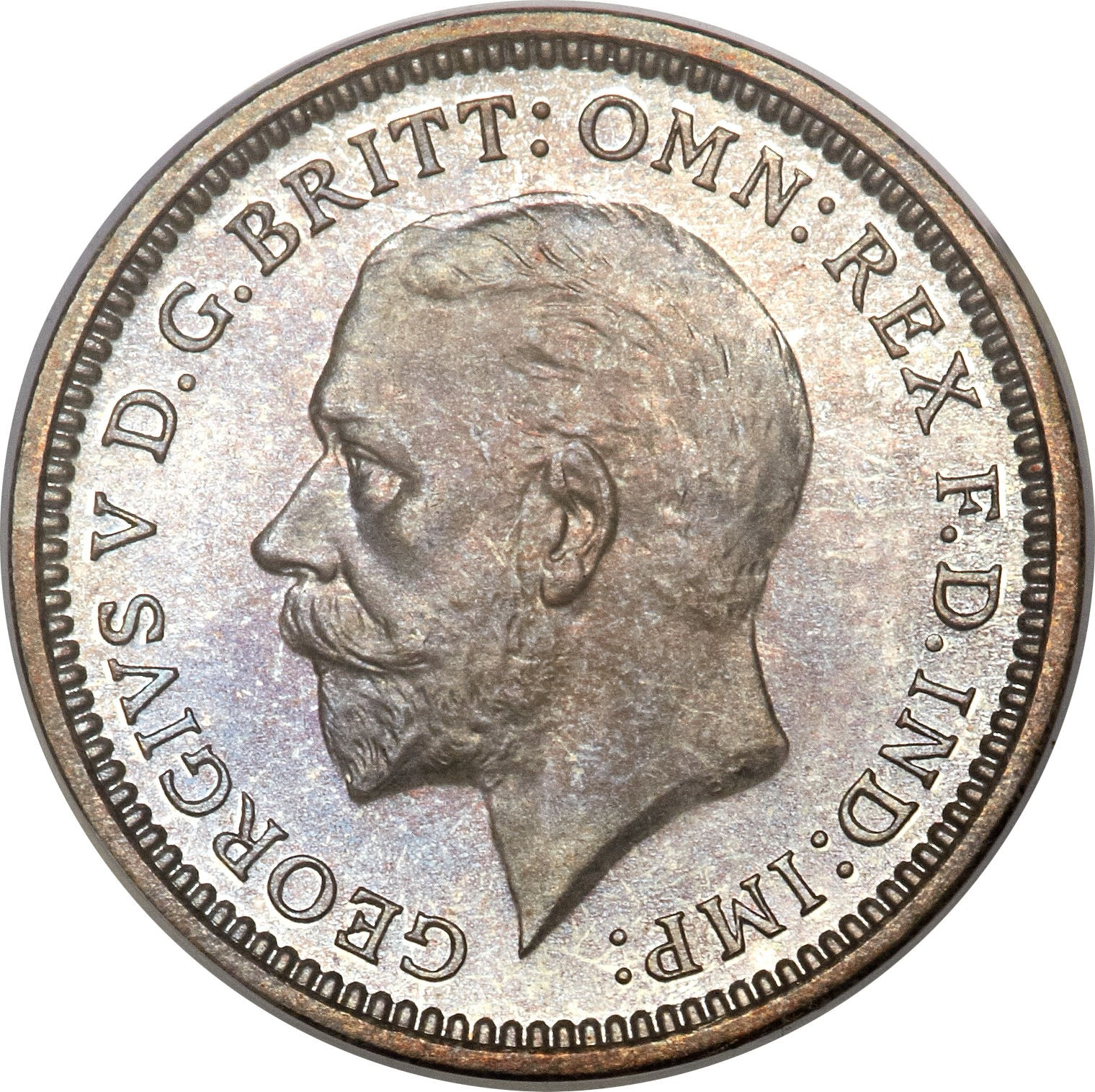 British 3 Pence (1927-1936 George V)