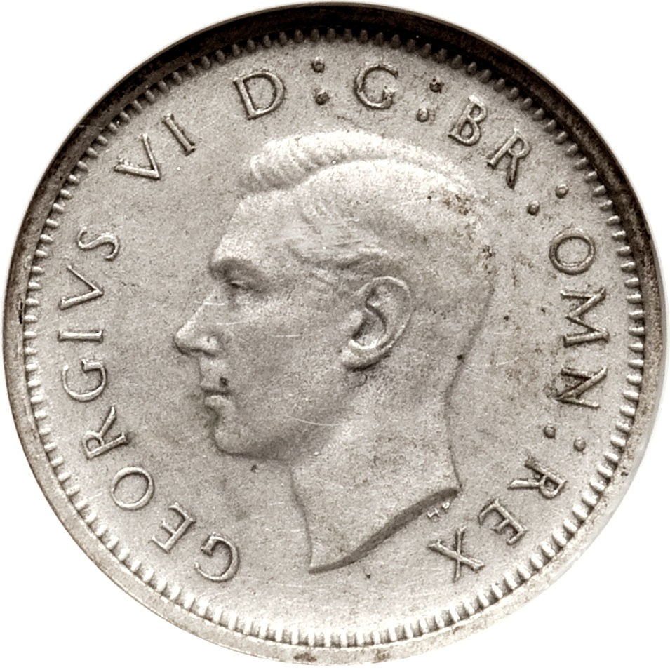 British 3 Pence (1937-1945 George V)