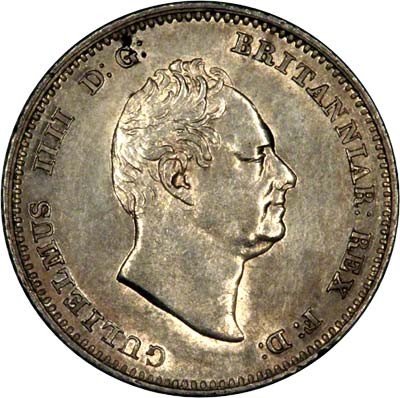 British 4 Pence (1836-1837 William IV)