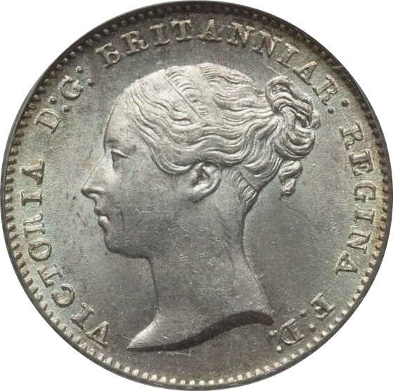 British 4 Pence (1837-1862 Victoria)