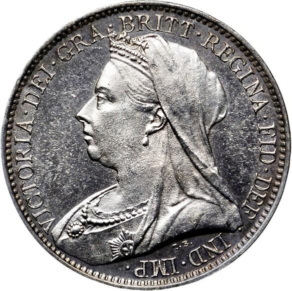 British 4 Pence (1893-1901 Victoria)
