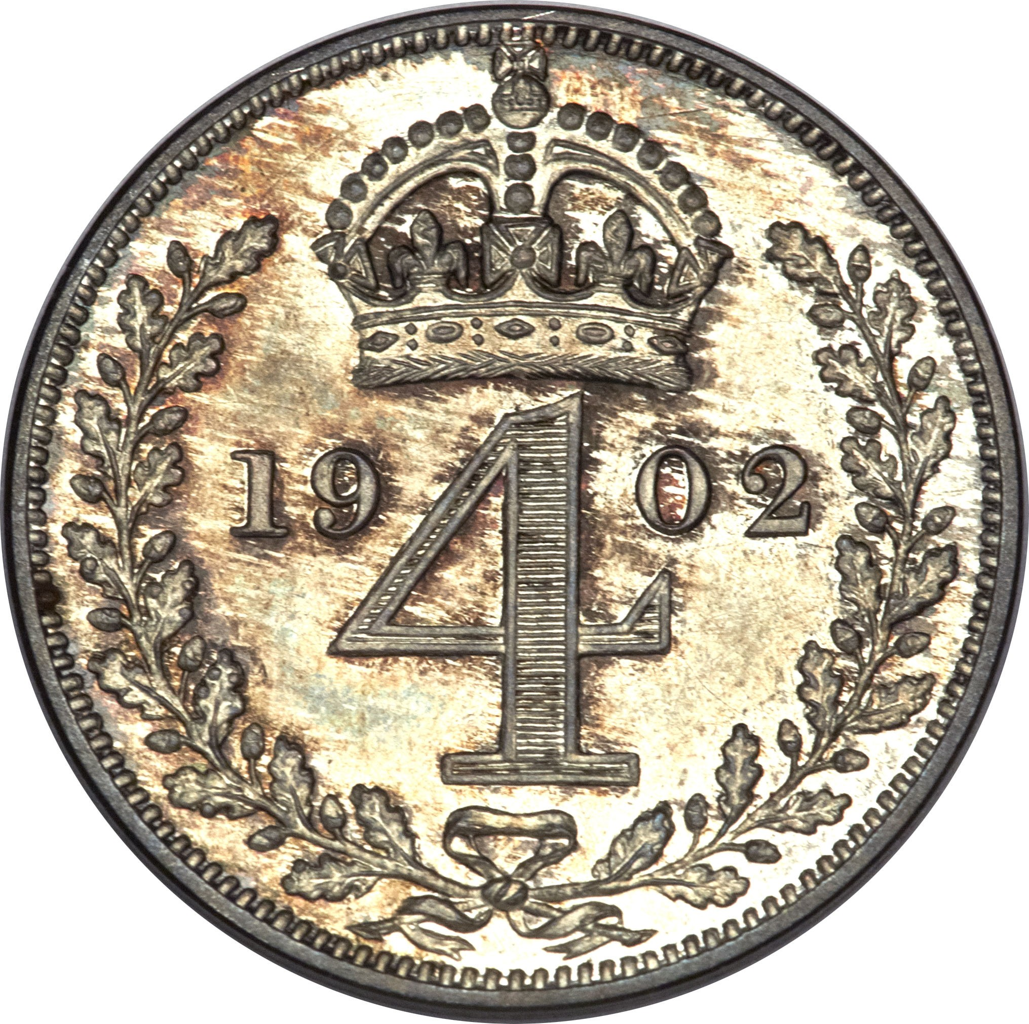 British 4 Pence (1902-1910 Edward VII)