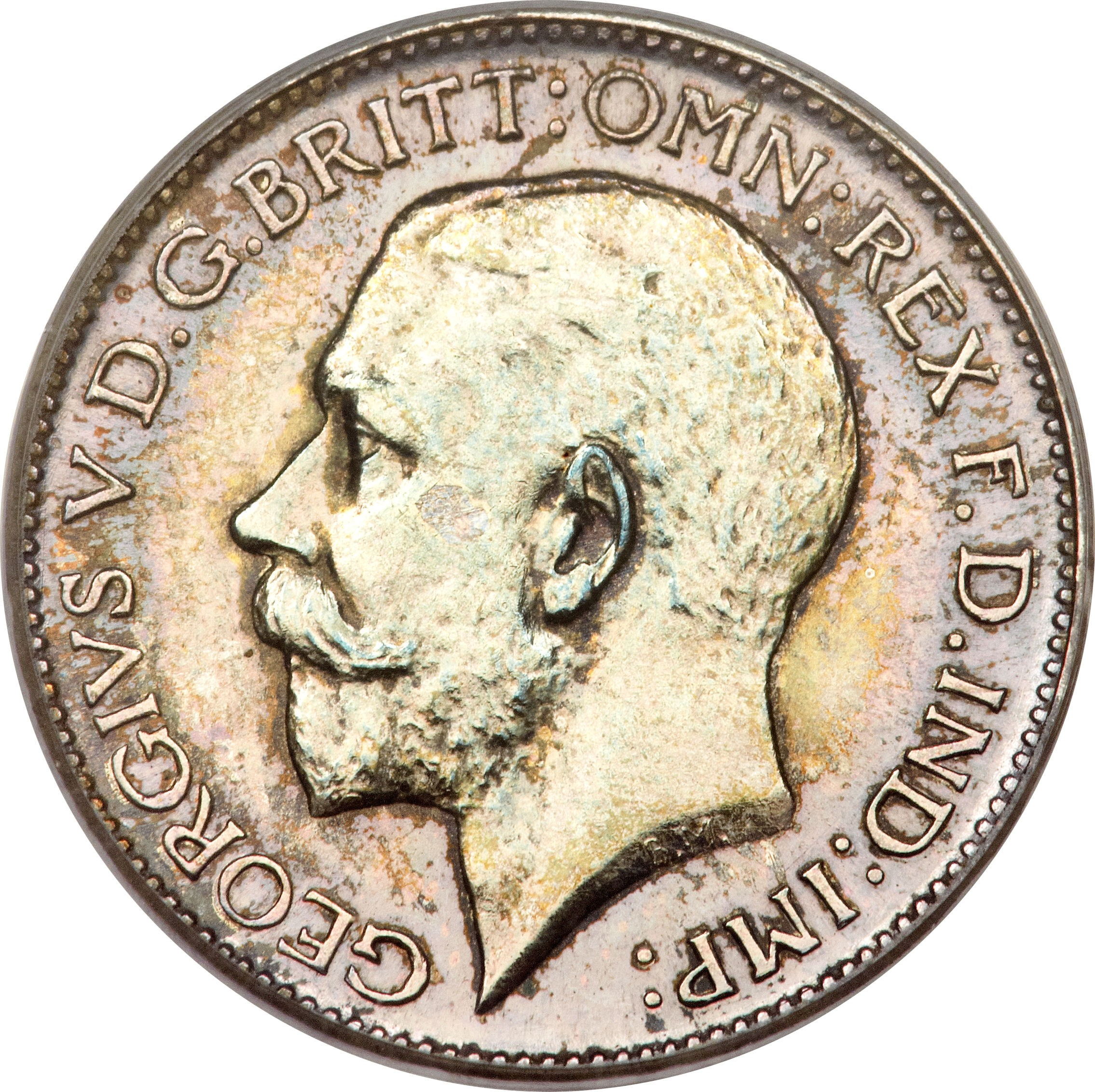 British 4 Pence (1911-1920 George V)