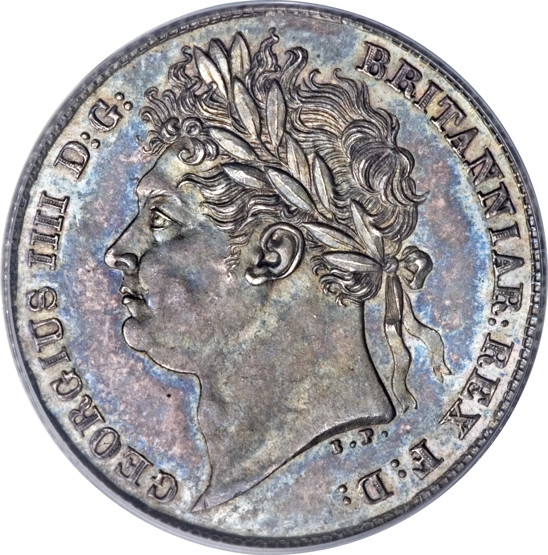 British 6 Pence (1824-1826 George IIII)