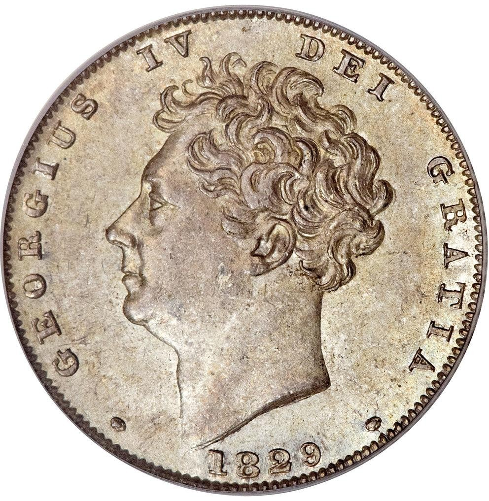 British 6 Pence (1826-1829 George IV)