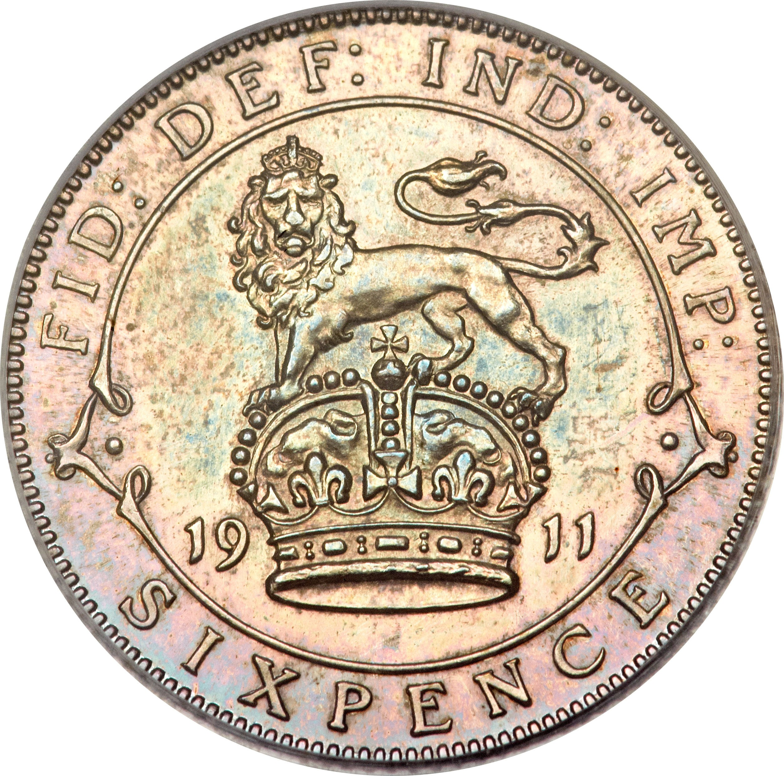 British 6 Pence (1911-1920 George V)