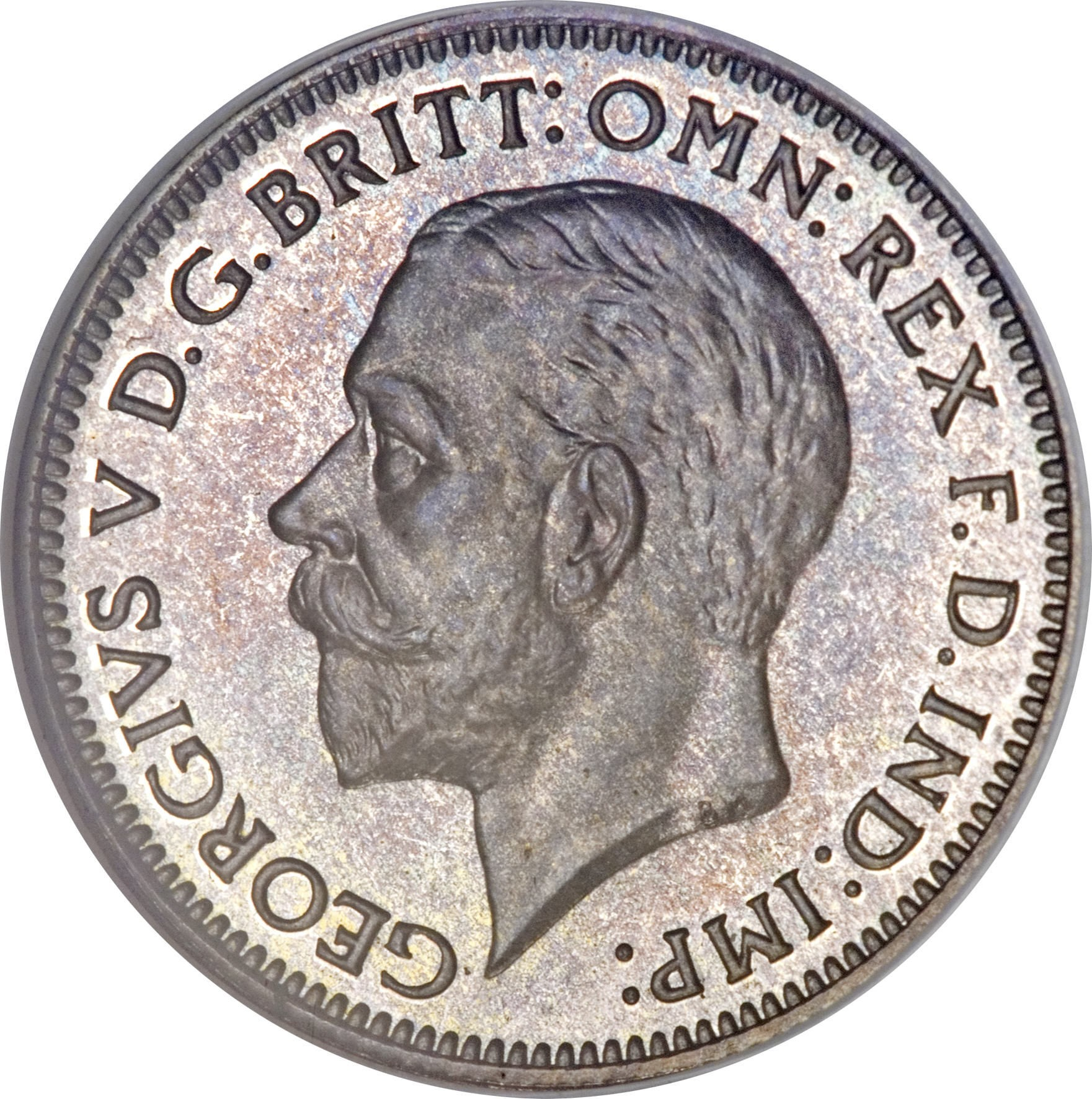 British 6 Pence (1927-1936 George V)