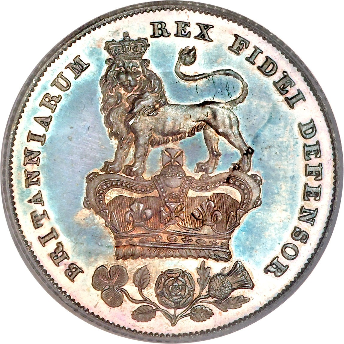 British 1 Shilling (1825-1829 George IV)