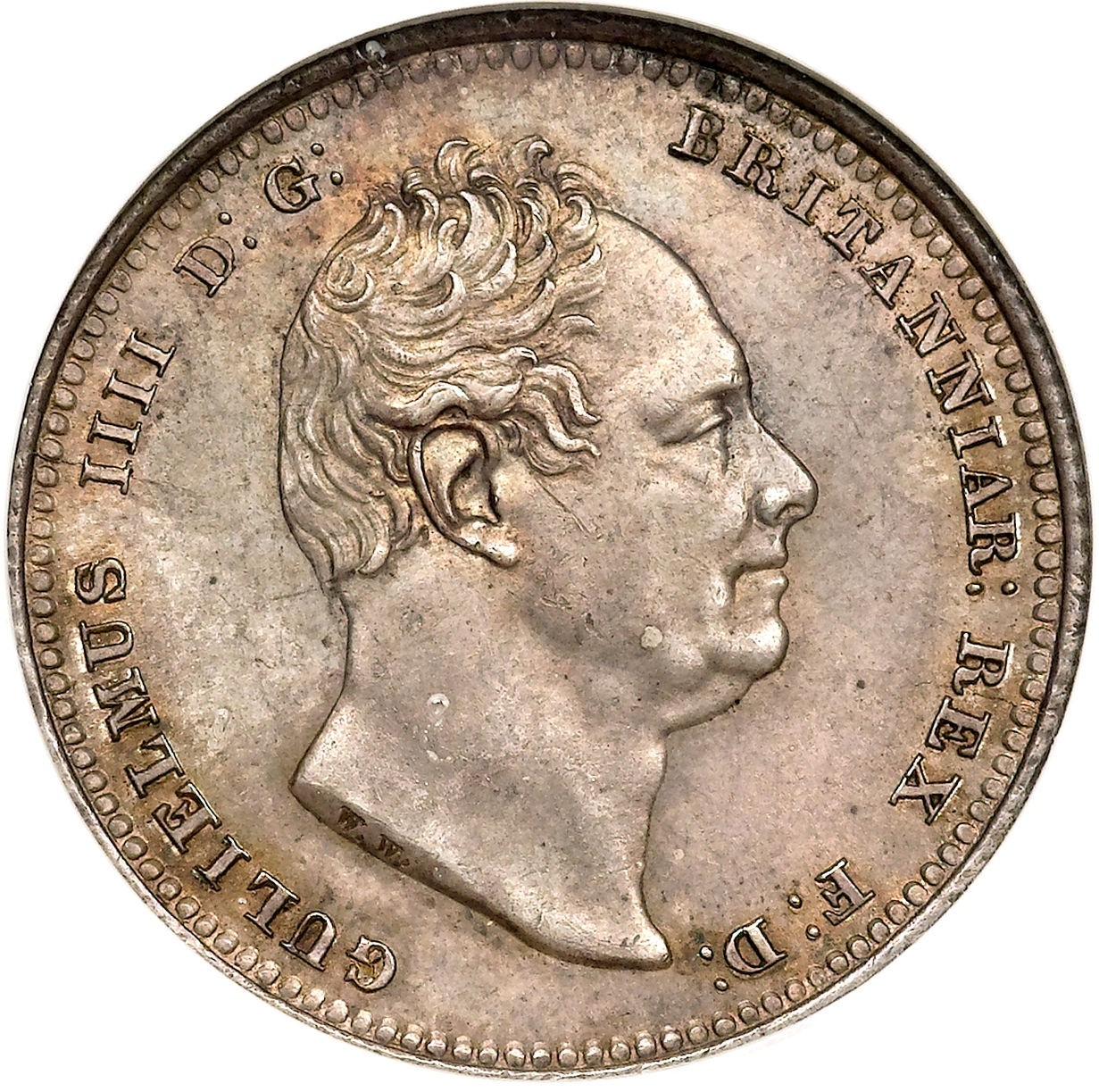 British 1 Shilling (1831-1837 William IV)