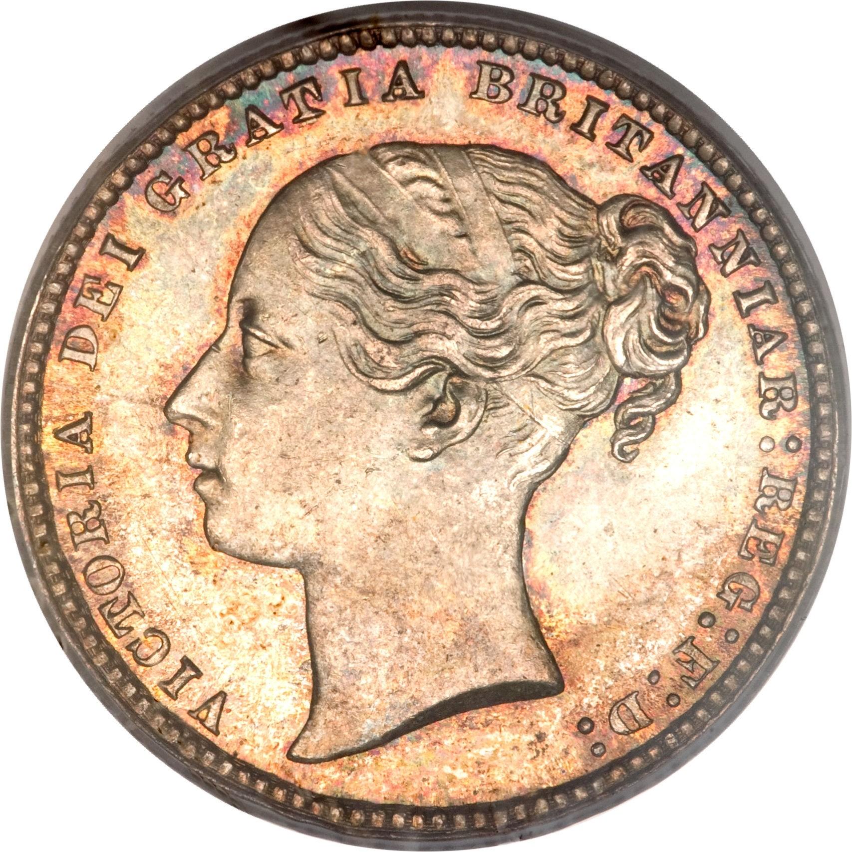 British 1 Shilling (1838-1887 Victoria)