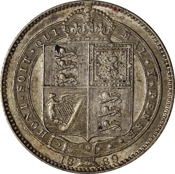 British 1 Shilling (1889-1892 Victoria)