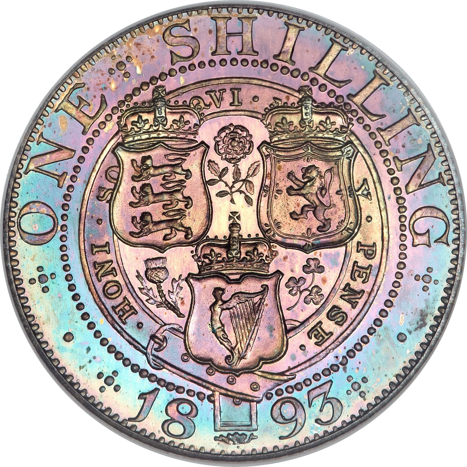 British 1 Shilling (1893-1901 Victoria)
