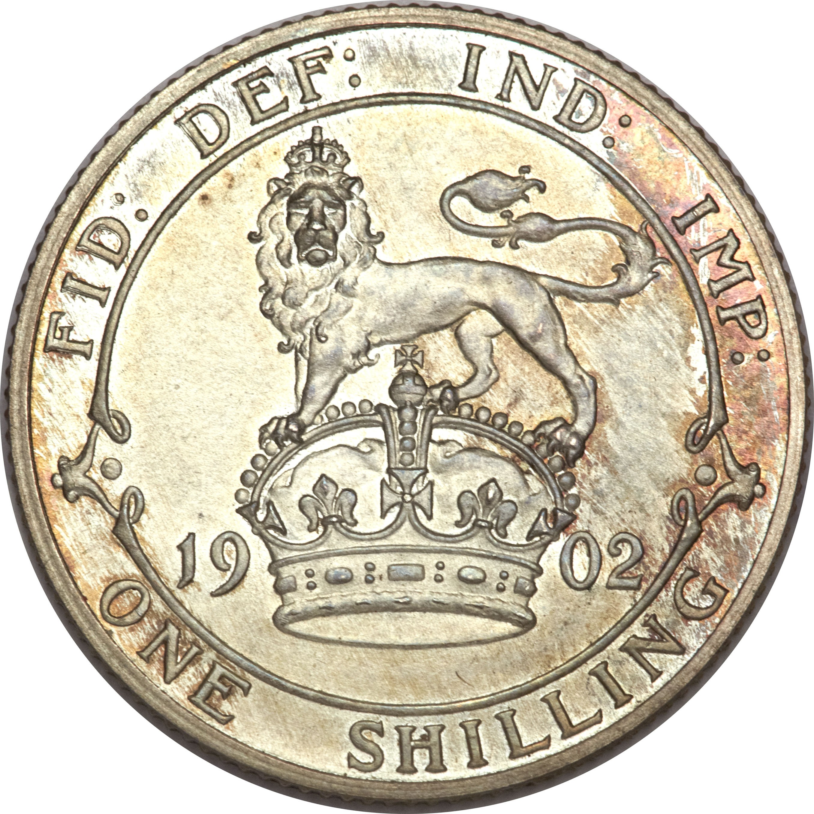 British 1 Shilling (1902-1910 Edward VII)