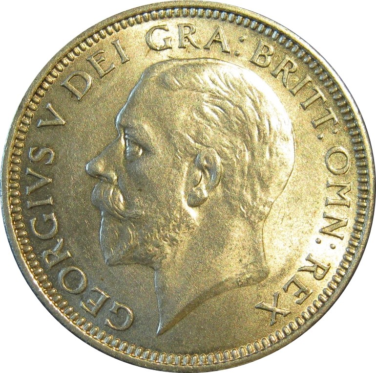 British 1 Shilling (1926-1927 George V)