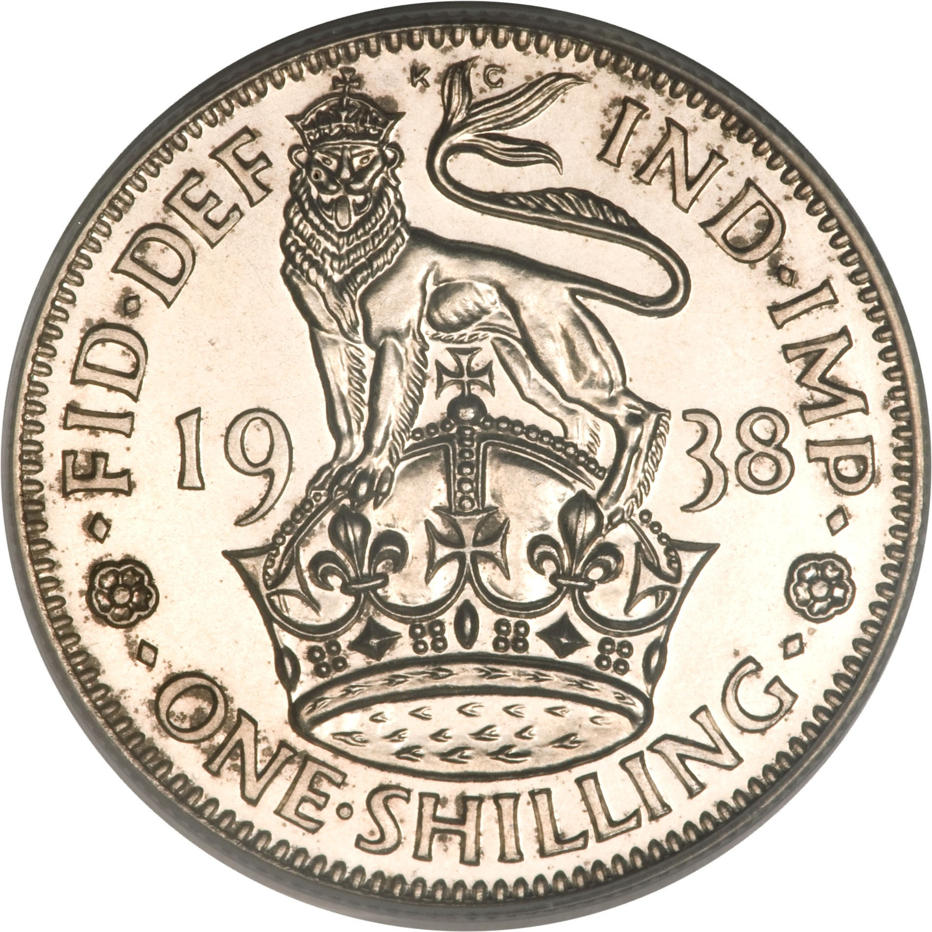 British 1 Shilling (1937-1946 George VI)