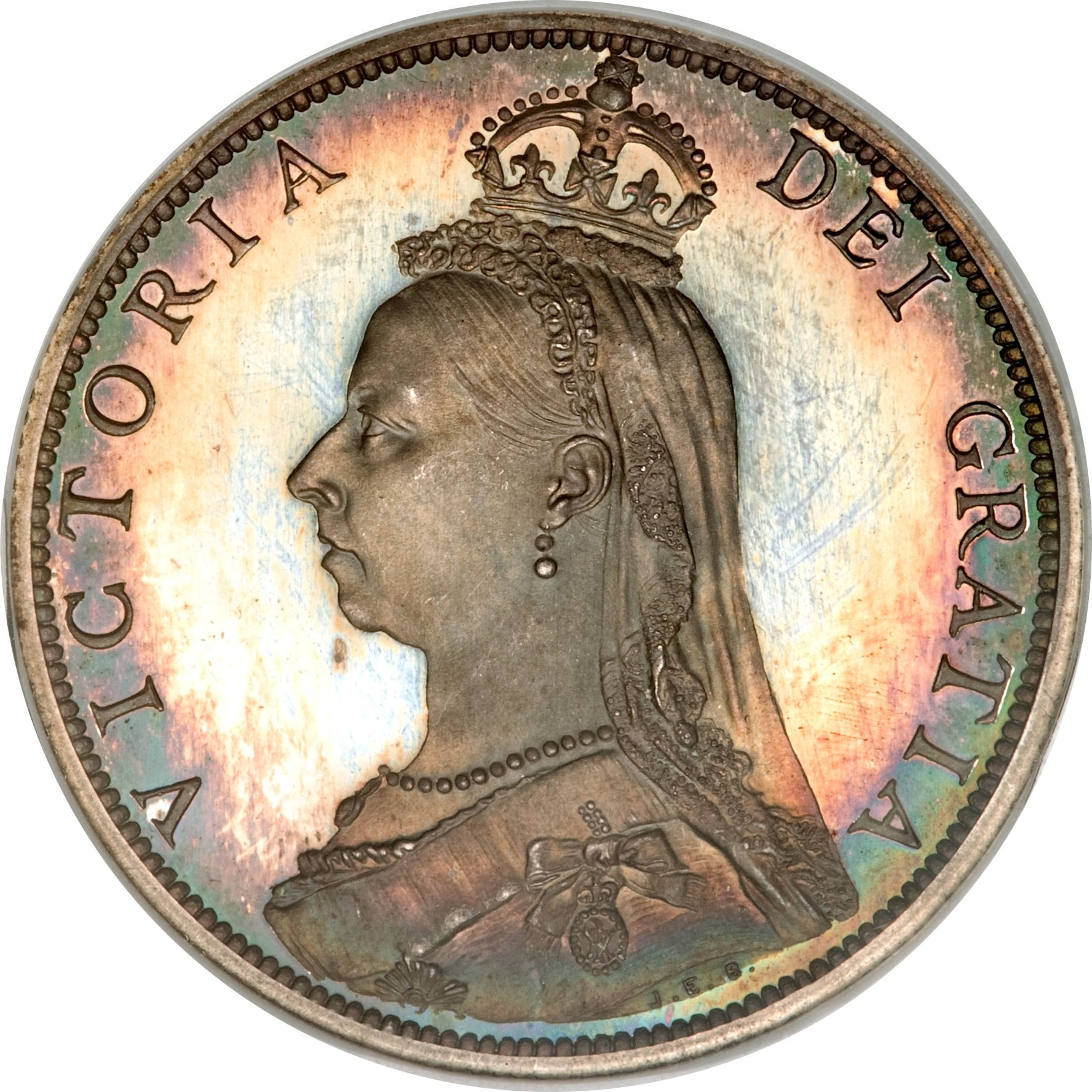 British 1 Florin (1887-1892 Victoria)