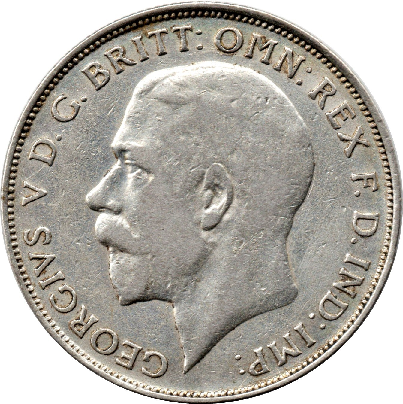 British 1 Florin (1920-1926 George V)