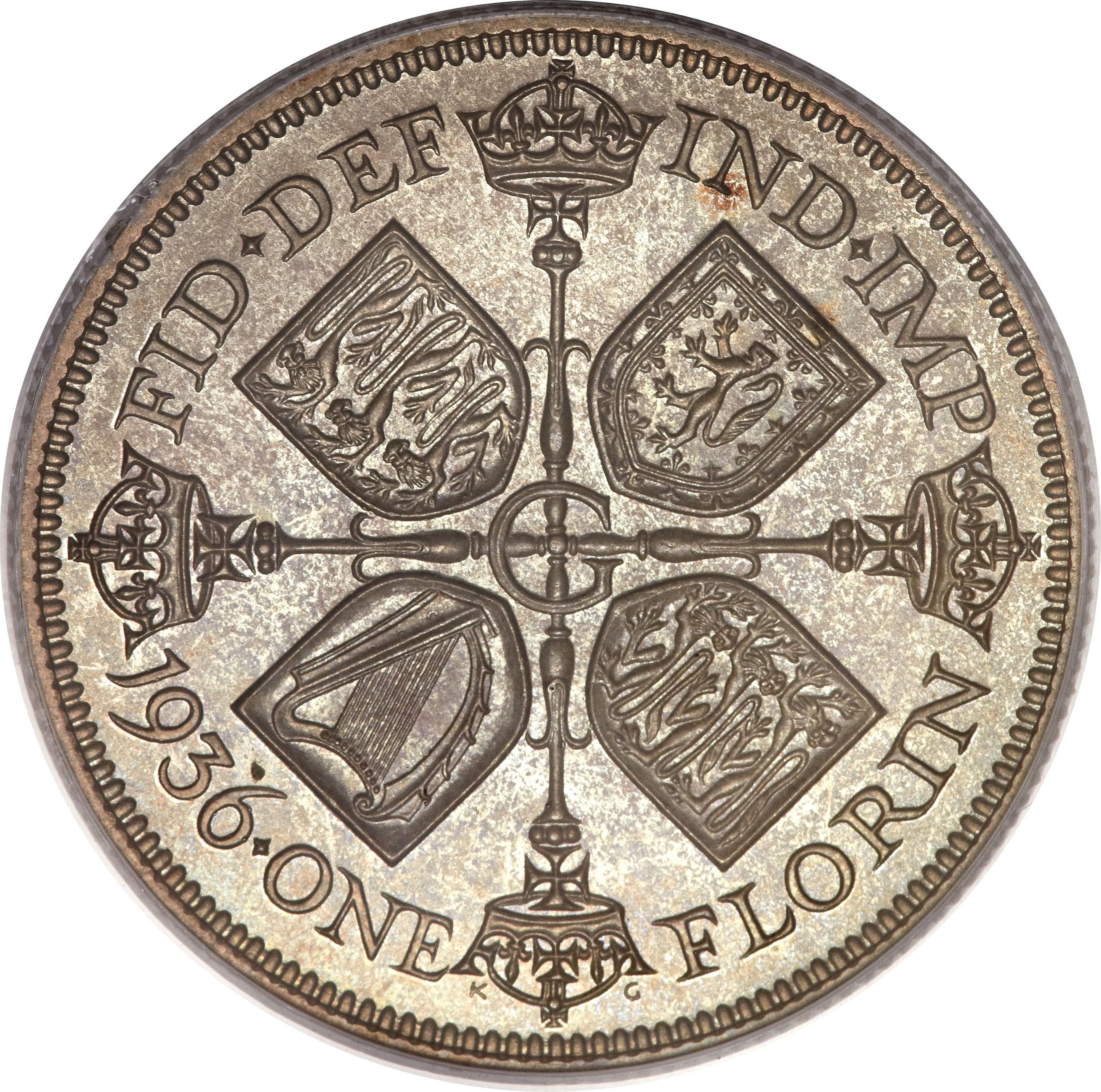 British 1 Florin (1927-1936 George V)