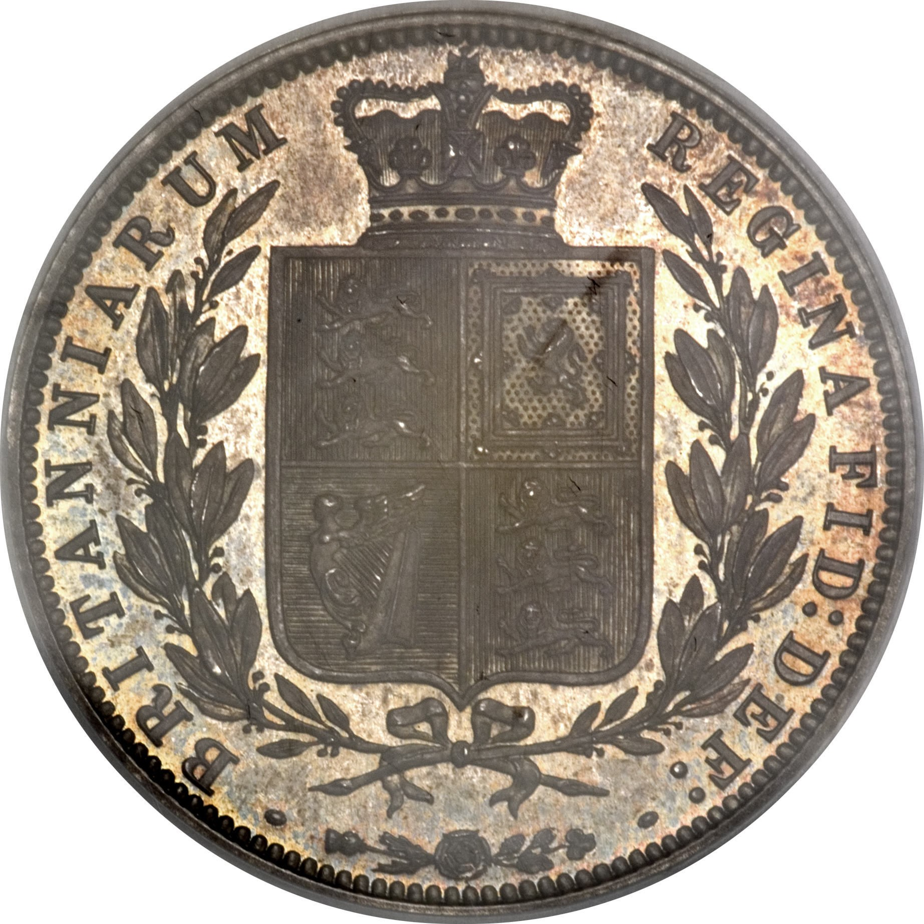 British ½ Crown (1874-1887 Victoria)