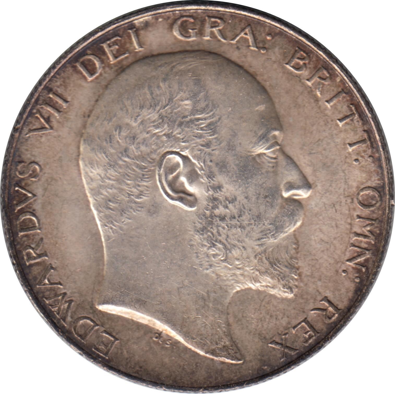 British ½ Crown (1902-1910 Edward VII)