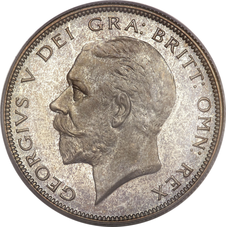 British ½ Crown (1927-1936 George V)