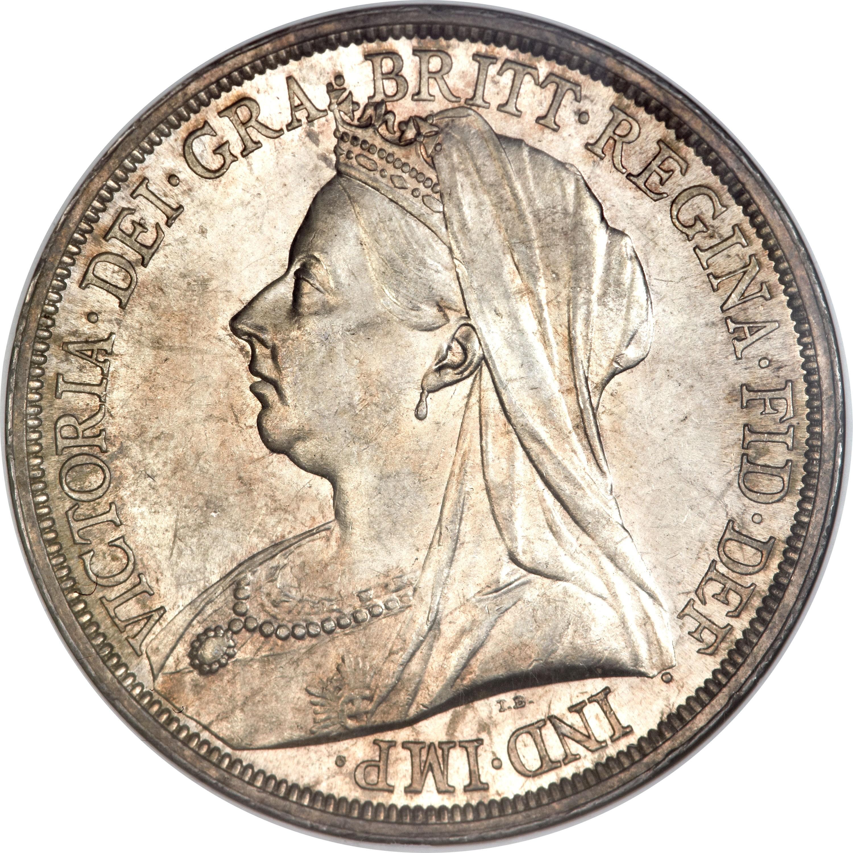 British 1 Crown (1893-1900 Victoria)