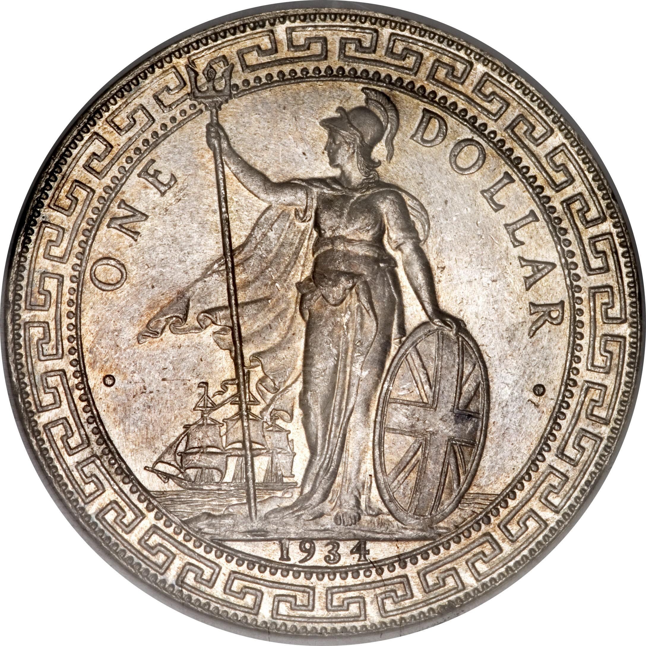 British 1 Dollar (1895-1935 British Trade Dollar)