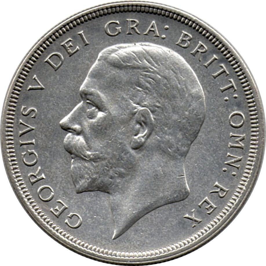 British 1 Crown (1927-1936 George V 'Wreath' Crown)