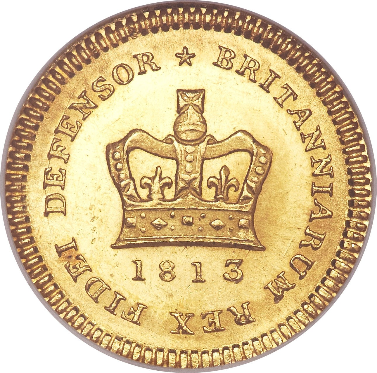 British ⅓ Guinea (1804-1813 George III)