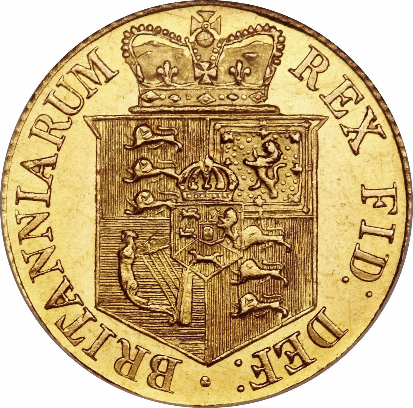 British ½ Sovereign (1817-1820 George III)