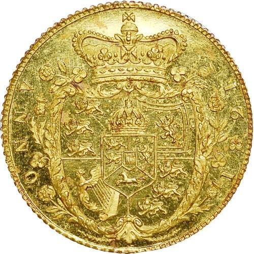 British ½ Sovereign (1821 George IV)