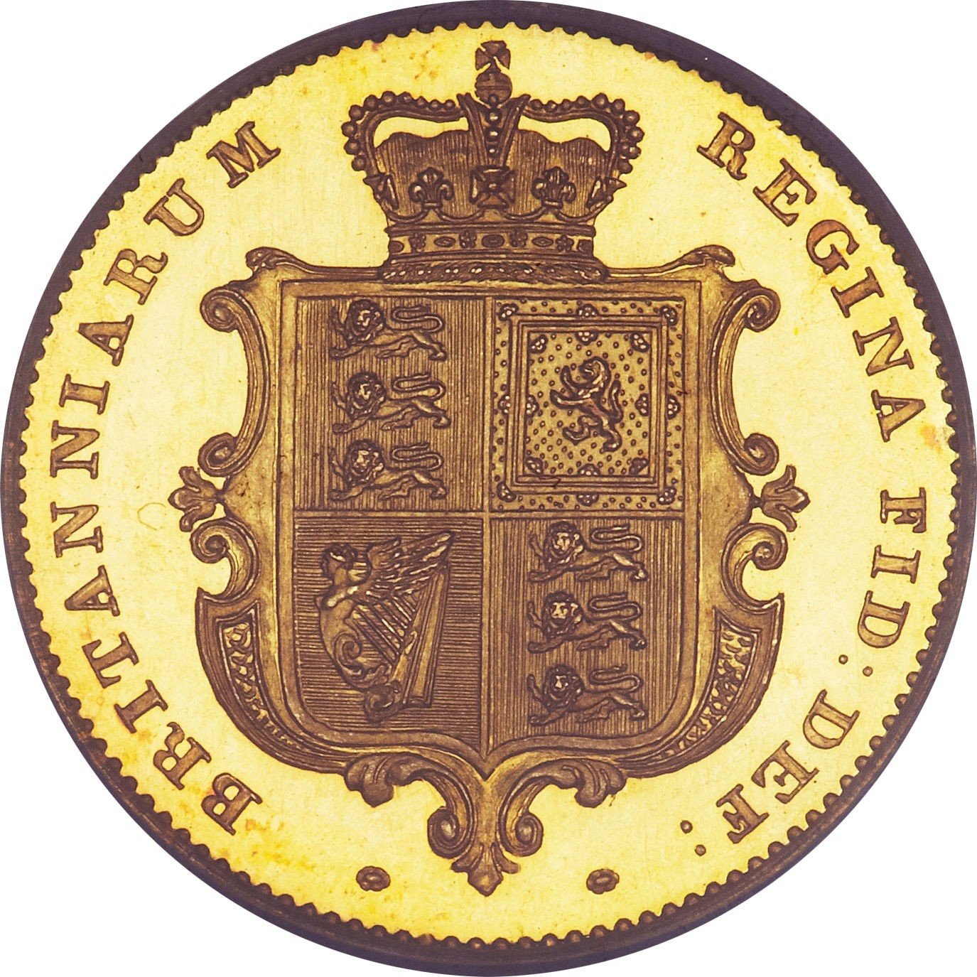 British ½ Sovereign (1838-1885 Victoria)
