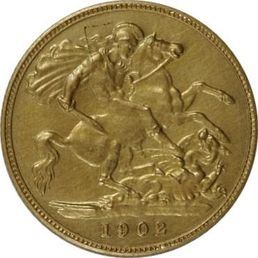British ½ Sovereign (1902-1910 Edward VII)