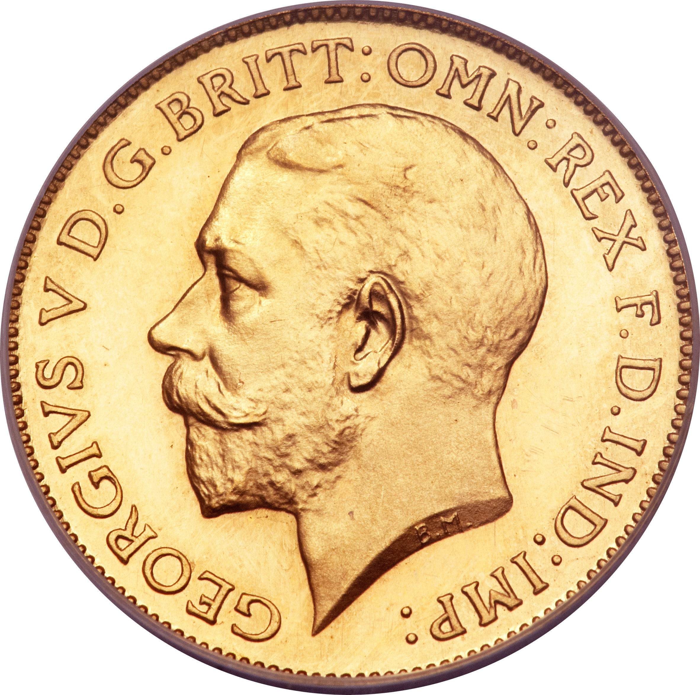 British ½ Sovereign (1911-1915 George V)