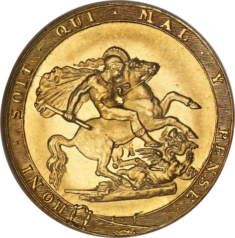 British 1 Sovereign (1817-1820 George III)